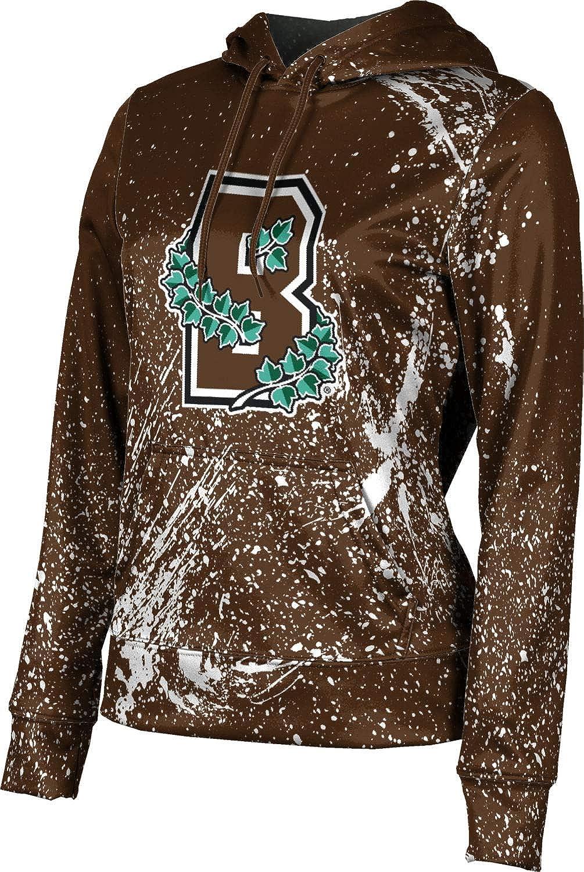 ProSphere Brown University Girls' Pullover Hoodie, School Spirit Sweatshirt (Splatter)
