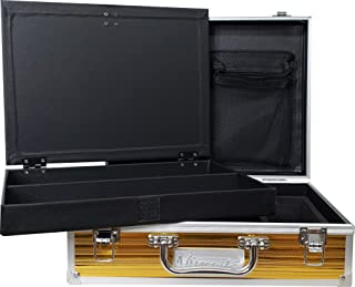 Vincent Master Case Travel Stylist Barber Case (Small, Gold)