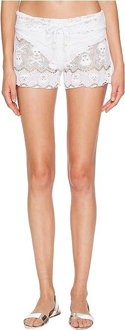 Letarte - Skull Lace Shorts