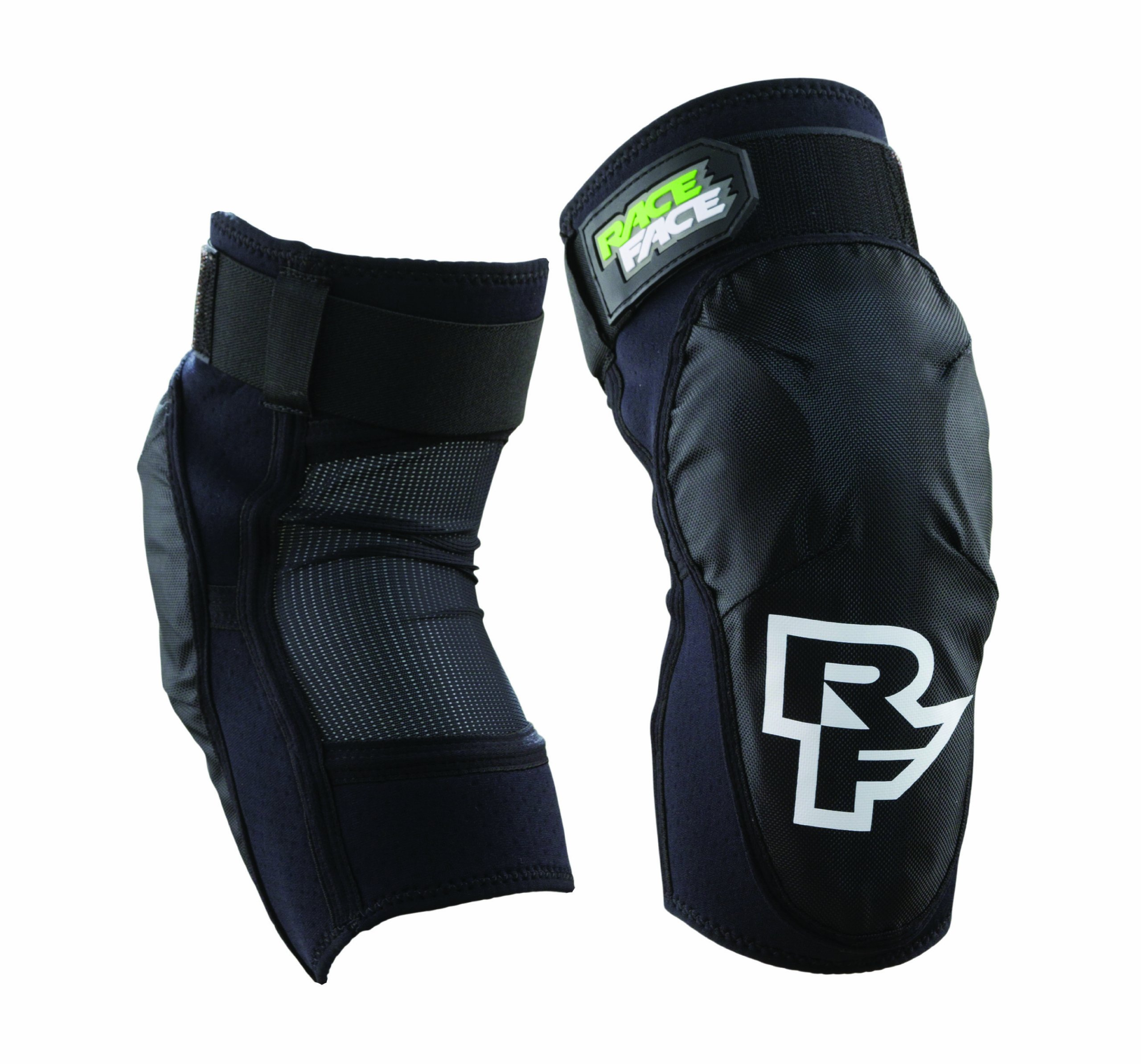 Race Face Herren Protektor Ambush Elbow, Stealth, S