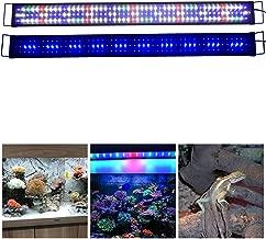 7500K BELLALICHT Éclairage LED pour Aquarium Lampe Rampe 180 LED Aquarium deau Douce RGBW ou Bleu Lumieres 31W LED pour 90-110CM Aquarium