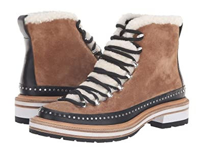 rag & bone Compass Boot (Camel/Shearling) Women