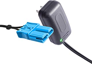 X PWR 12 Volt Battery Charger with Anderson Connector, for 12V Kid Trax Child Ride On Car Dodge Viper Dodge Ram 3500 Dodge Police Car Mecerdes ML63
