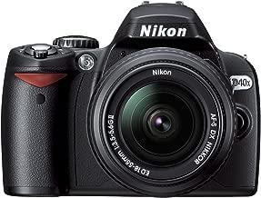 Nikon D40x 10.2MP Digital SLR Camera with 18-55mm f/3.5-5.6G ED II AF-S DX Zoom-Nikkor Lens (OLD MODEL)