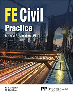 Ppi Fe Civil Practice - Comprehensive Practice for the Ncees Fe Civil Exam