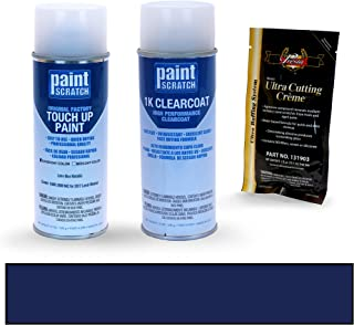 PAINTSCRATCH Loire Blue Metallic 1AM/JBM/942 for 2017 Land-Rover Evoque - Touch Up Paint Spray Can Kit - Original Factory OEM Automotive Paint - Color Match Guaranteed