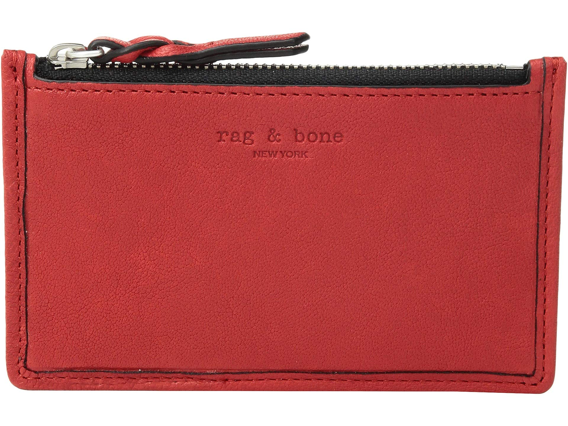 Card Case Zip Red Field Rag amp; Fiery Bone SwIOqS4Tz