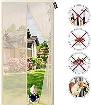 Horren voor deuren - Geen Kloof Balkon Insect Privacy Deur Scherm-Anti Mosquito Mesh Fly Gordijn Netten voor Kelder Keuken...