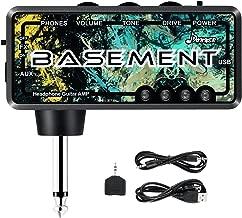 Donner Bass Guitar Headphone Amp Basement Pocket FX WAH Rechargeable Mini Practice Amplifier