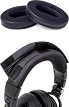 WC Wicked Cushions Upgraded Replacement Earpads and Headband Cover Combo Pack Compatible with ATH M Series Headphones - Fi...
