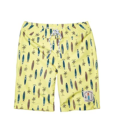Lucky Brand Kids Surfboard Boardshorts (Big Kids) (Limelight) Boy