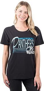NFL Women's S/S Scoop Tee Shirt w/ Logo