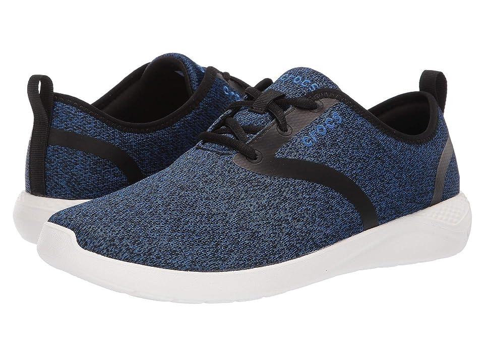 Crocs LiteRide Lace (Blue Jean/White) Men