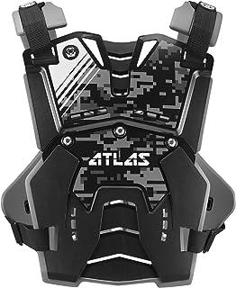 Atlas Brace Technologies Defender Digital Stealth Chest Protector (Black, Adult)