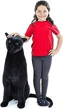 Melissa & Doug Giant Panther - Lifelike Stuffed Animal  (nearly 3 feet tall)