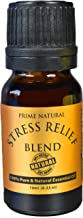 Stress Relief Essential Oil Blend 10ml - Natural Pure Undiluted Therapeutic Grade for Aromatherapy, Scents & Diffuser - Depression, Anxiety Relief, Relaxation, Boost Mood, Uplifting, Calming