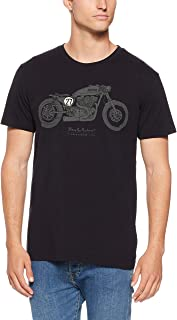 Deus Ex Machina Men's Bald Terrier V-Twin T-Shirt