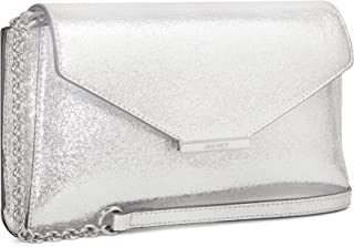 Nine West Clutch for Women - Silver