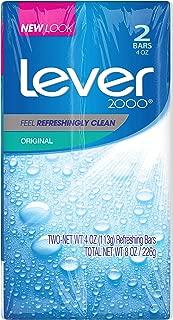 Lever 2000 Bar Soap, Original, 4 oz, 2 Bar