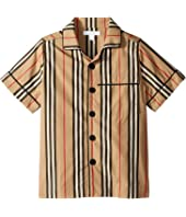 Burberry Kids - Andres Icon Stripe Shirt (Little Kids/Big Kids)