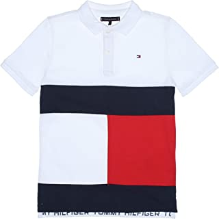 Tommy Hilfiger - Polo KB0KB05665 Colorblock Flag Polo S/S - Polo ...