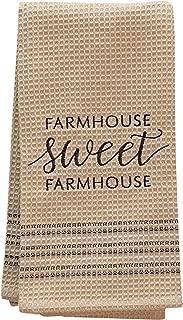 CWI Gifts Sweet Farmhouse Dish Towel, Multi