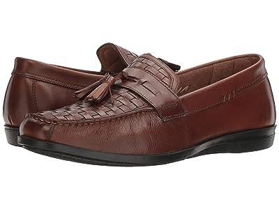 Dockers Hillsboro Tassel Slip On (Antique Brown) Men