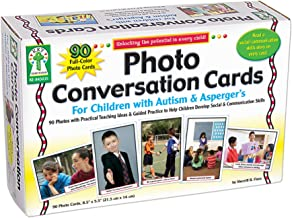 Photo Conversation Cards for Children With Autism and Aspergers Board Game