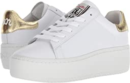 White/Ariel Nappa Calf/Rocher