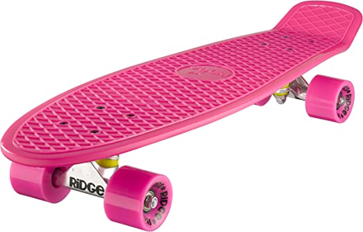 Complete 69cm Big Brother 27 Mini Cruiser Board By Ridge Skateboards Sport Freizeit