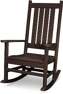 POLYWOOD Vineyard Porch Rocking Chair (Mahogany)