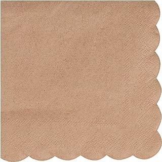 rustic paper napkins