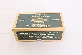 Cheyenne Pioneer Cartridge Box 38 Special Chipboard Pack of 5