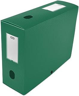 Elba 400094576 Boîte de classement à monter dos 100 mm polypropylène opaque 24 x 32 cm Vert