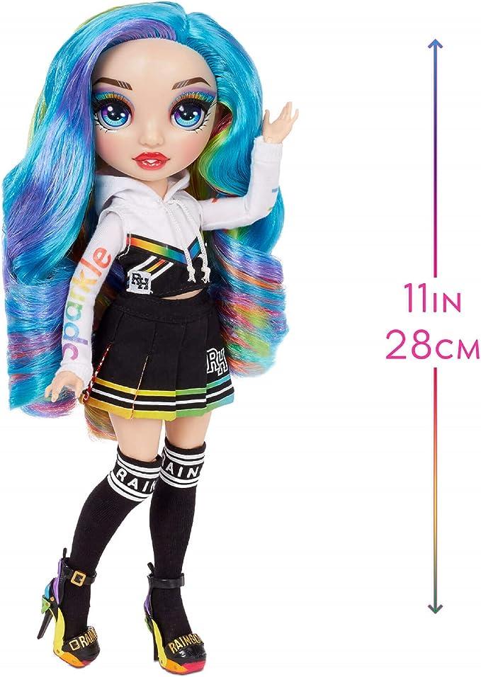 lot of 7 Rainbow High Fashion Dolls including AMAYA RAINES