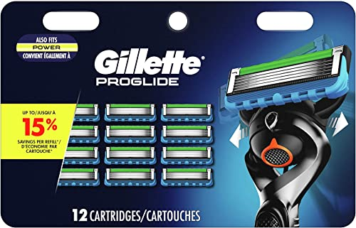 Gillette ProGlide Men's Razor Blade 12 Refills