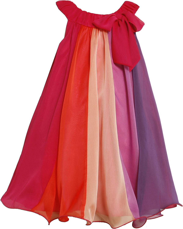 Bonnie Jean Little Girls' Chiffon Aline Dress