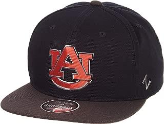 Zephyr NCAA Mens Imprint Platinum Logo Snapback Hat