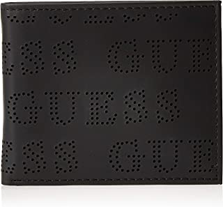 Guess Mens Global Wallet With Coin Holder, Black, One Size - 31GUE13197