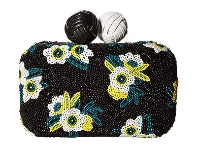 Sam Edelman Annabelle Beaded Hardcase (Black Dots) Handbags