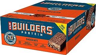 Clif Builders - Protein Bar - Chocolate - (2,4 oz, 12 count) door Clif Bar