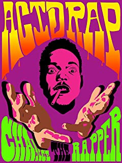 MeiMeiZ Chance The Rapper Acid Rap Poster Standard Size 18-Inches by 24-Inches Wall Poster Print