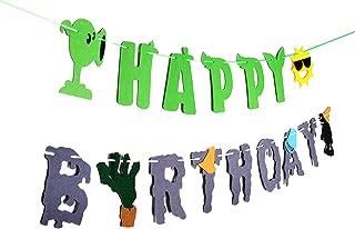 plants vs zombies birthday theme party