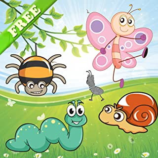 Puzzles of insects for toddlers and kids ! Educational puzzle games : learn to know the insects ! FREE