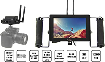 CMR CamLink High Bright Wireless Video Directors Monitor Bundle (Includes The CVW Swift 800 TX & RX and The Portkeys HH7 High Brightness 7 Inch Monitor)