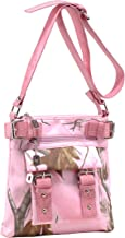 Emperia Women's 8 Pocket Purse with Studded Buckle Embellishments