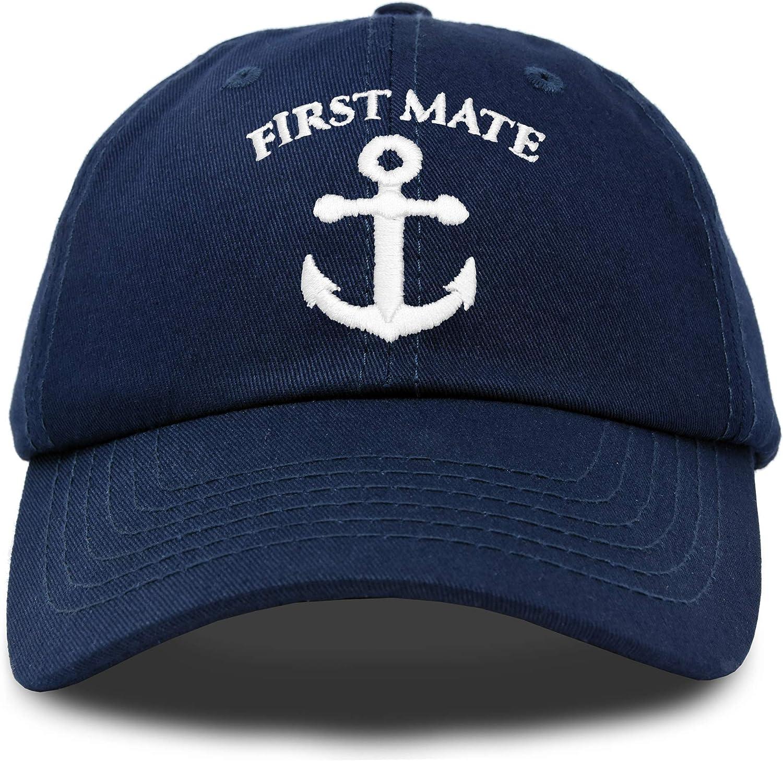 List price DALIX Captain Hat Sailing half Baseball Cap Boating Wom Gift Navy Men