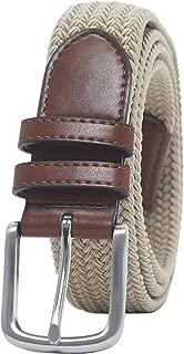 Men's Stretch Woven Braid Belt