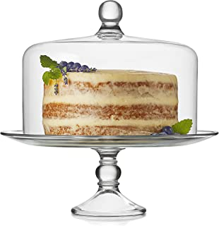 Best extra large glass cake stand Reviews