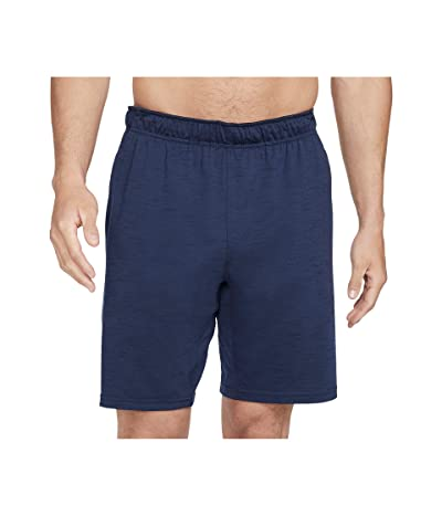 Nike Big Tall Dry Shorts Hyper Dry Light Yoga (Midnight Navy/Dark Obsidian/Gray) Men